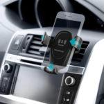 Suport mobil Travel Wolder cu încărcător wireless